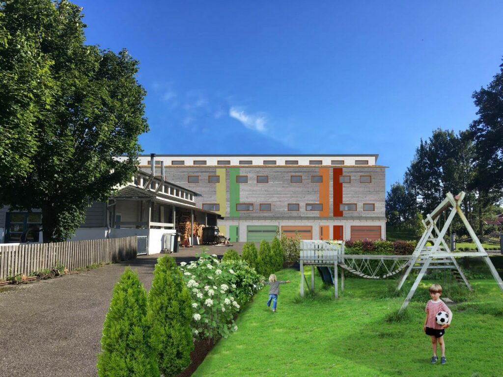Visualization Elevation North with playground
